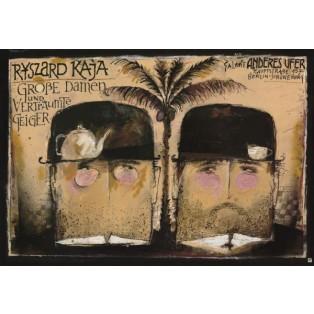 Grosse Damen Ryszard Kaja Polnische Plakate