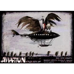 Aviation Polnisches Luftfahrtmuseum Krakau Ryszard Kaja Polnische Plakate