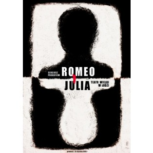 Romeo und Julia, Łódź Ryszard Kaja Polnische Opernplakate