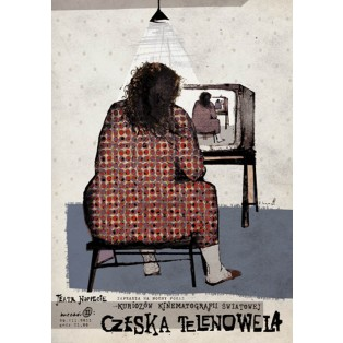 Tschechische Seifenoper Ryszard Kaja Polnische Plakate