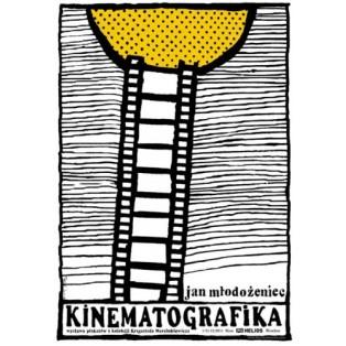 Kinematografika Jan Młodożeniec Ryszard Kaja Polnische Ausstellungsplakate