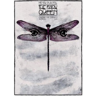 Fairy Queen  Henry Purcell Ryszard Kaja Polnische Opernplakate