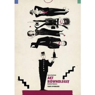 Parallelakt Ryszard Kaja Polnische Theaterplakate
