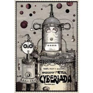 Kyberiade  Ryszard Kaja Polnische Opernplakate
