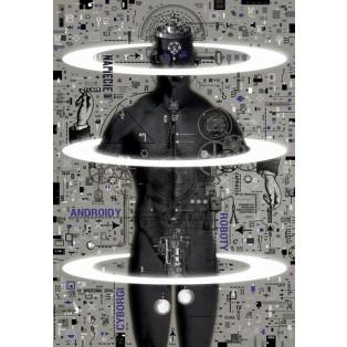 Cyborgs, Androiden  Ryszard Kaja Polnische Theaterplakate