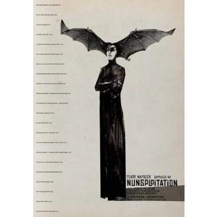 Nunsploitation Ryszard Kaja Polnische Theaterplakate