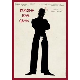Persona love grata Ryszard Kaja Polnische Filmplakate