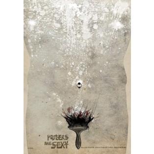 Posters are sexy, Pinsel Ryszard Kaja Polnische Ausstellungsplakate