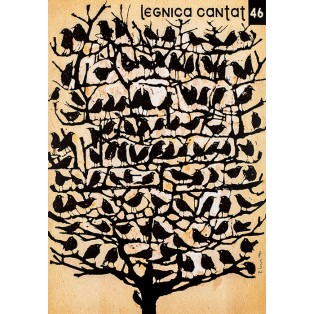 Legnica Cantat 46 Ryszard Kaja Polnische Musikplakate