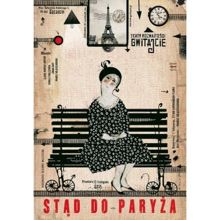 Gwitajcie Teatr Rozmaitości Ryszard Kaja Polnische Plakate