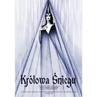 Schneekönigin Ryszard Kaja Polnische Musikplakate