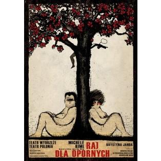 Henry und Alice Ryszard Kaja Polnische Theaterplakate