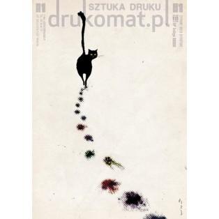 Druckkunst Drukomat-Druckerei Ryszard Kaja Polnische Plakate