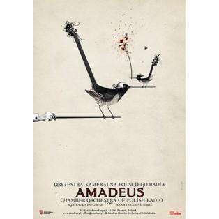 Amadeus Kammerorchester des Polnischen Rundfunks Ryszard Kaja Polnische Musikplakate