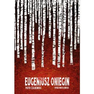 Eugen Onegin Ryszard Kaja Polnische Opernplakate