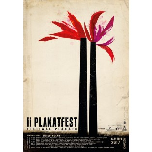 PlakatFest 2. Chorzów Ryszard Kaja Polnische Ausstellungsplakate