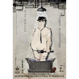Plakaty kulturystyczne - w Łazienkach Królewskich Ryszard Kaja Polnische Ausstellungsplakate