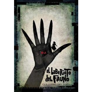 Pans Labyrinth Guillermo del Toro Ryszard Kaja Polnische Filmplakate