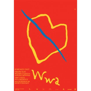 Ryszard Kajzer Plakate Kawiarnia Relaks Ryszard Kajzer Polnische Ausstellungsplakate
