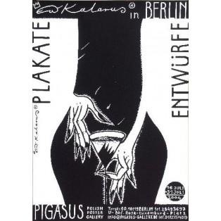 Plakate und Entwürfe Roman Kalarus Polnische Ausstellungsplakate