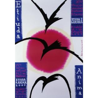 Etiuda Anima 1 Roman Kalarus Polnische Plakate