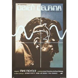 Tag der Delphine Mike Nichols Andrzej Klimowski Polnische Filmplakate