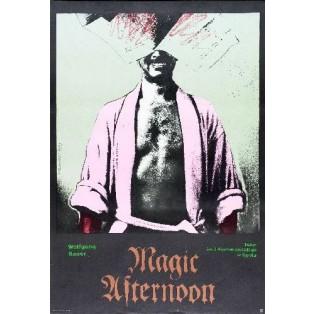 Magic Afternoon Andrzej Klimowski Polnische Theaterplakate