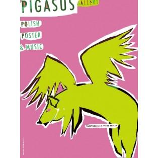 Pigasus Polish Poster and Music Leonard Konopelski Polnische Plakate