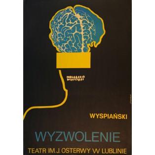 Befreiung Stanisław Wyspiański Leonard Konopelski Polnische Theaterplakate