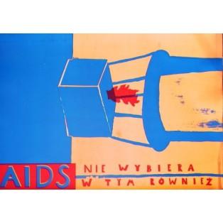 Aids 1 Sebastian Kubica Polnische Plakate