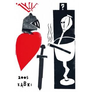 Ząbki 2005 – das Leben Sebastian Kubica Polnische Ausstellungsplakate