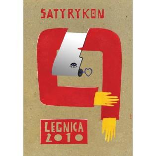 Satyrykon 2010 Sebastian Kubica Polnische Ausstellungsplakate
