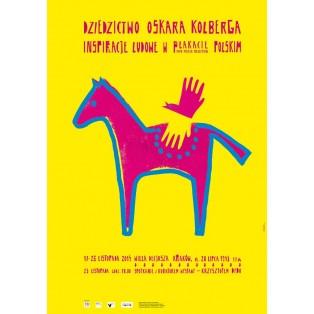 Oskar Kolbergs Erbe – Volkskunstinspirationen Sebastian Kubica Polnische Ausstellungsplakate