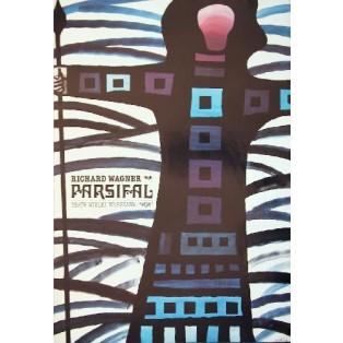 Parsifal Jan Lenica Polnische Opernplakate