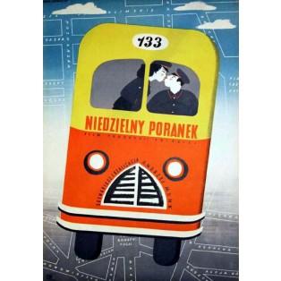 Sonntagmorgen Andrzej Munk Eryk Lipiński Polnische Filmplakate