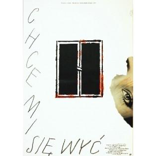 Ich mchte bröllen Jacek Skalski Lech Majewski Polnische Filmplakate