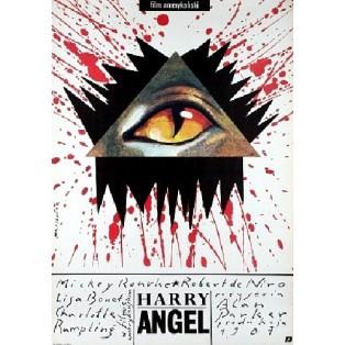 Angel Heart Alan Parker Grzegorz Marszałek Polnische Filmplakate