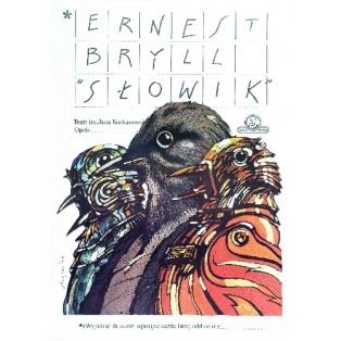 Nachtigal Grzegorz Marszałek Polnische Theaterplakate