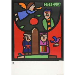 Cepelia Jan Młodożeniec Polnische Plakate