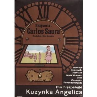 Cousine Angélica Jan Młodożeniec Polnische Filmplakate