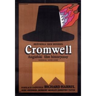 Cromwell - Der Unerbittliche Jan Młodożeniec Polnische Filmplakate
