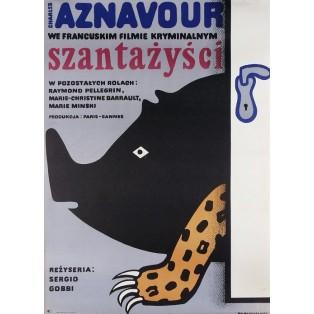 Eindringlinge Jan Młodożeniec Polnische Filmplakate