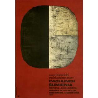 Conscience Jan Młodożeniec Polnische Filmplakate