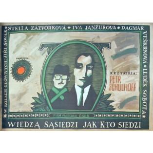 Wenn wir erstmal reich sind Petr Schulhoff Piotr Młodożeniec Polnische Filmplakate