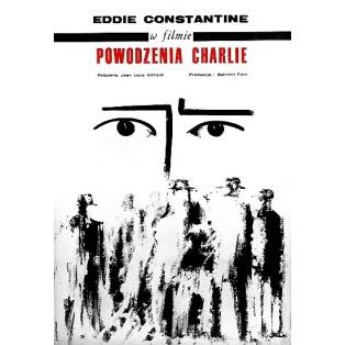 Viel Glück, Eddie Jean-Louis Richard Jacek Neugebauer Polnische Filmplakate