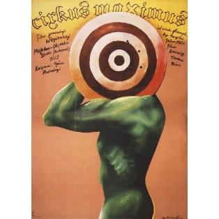 Zirkus der Verdammten Geza von Radvanyi Marian Nowiński Polnische Filmplakate