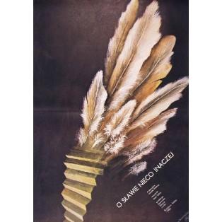 Schattenseite des Ruhmes Peter Solan Marian Nowiński Polnische Filmplakate