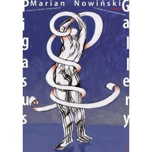 Marian Nowinski Plakate Marian Nowiński Polnische Ausstellungsplakate