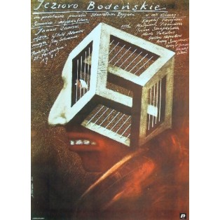 Bodensee Janusz Zaorski Andrzej Pągowski Polnische Filmplakate
