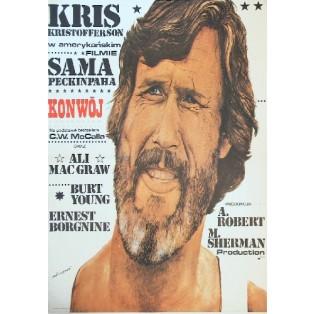 Convoy Sam Peckinpah Andrzej Pągowski Polnische Filmplakate